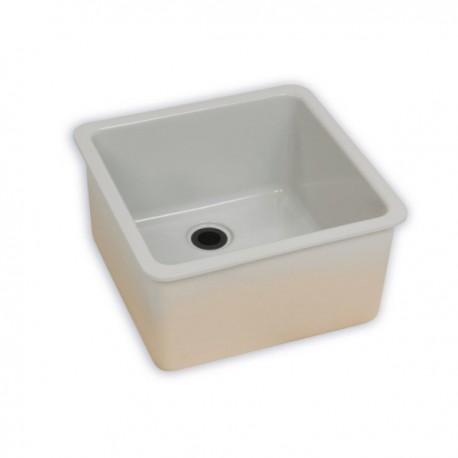 zlew ceramiczny nakładany 50x40