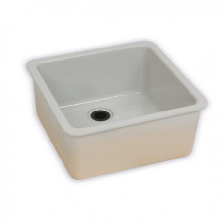 zlew ceramiczny nakładany 60x40