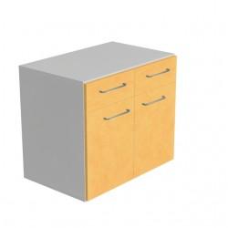 Szafka laboratoryjna SD6982 z dwiema szufladami